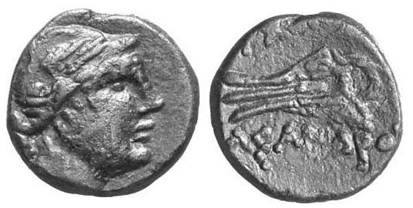 Нике на монете архонта Асандра