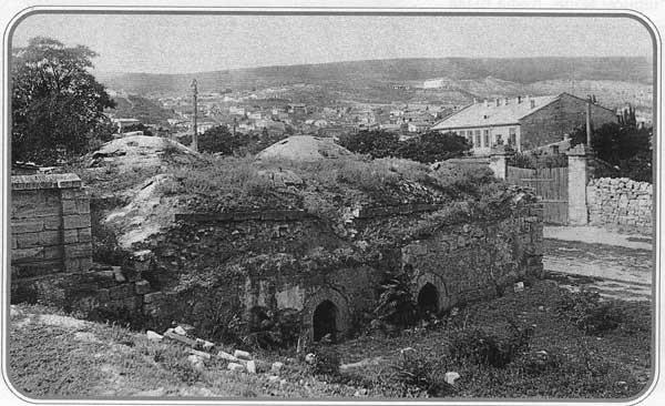 Турецкие бани в Котовской части. Фото 1934 г.