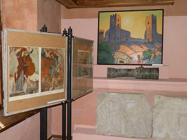 Работы Н. С. Барсамова и Н. А. Шорина в экспозиции музея