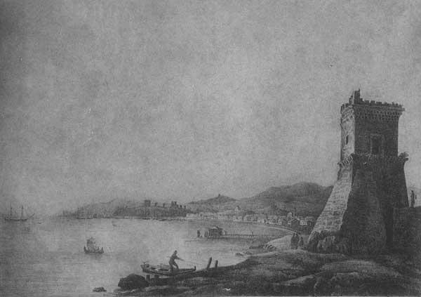 Братья Чернецовы. Феодосия. 1836